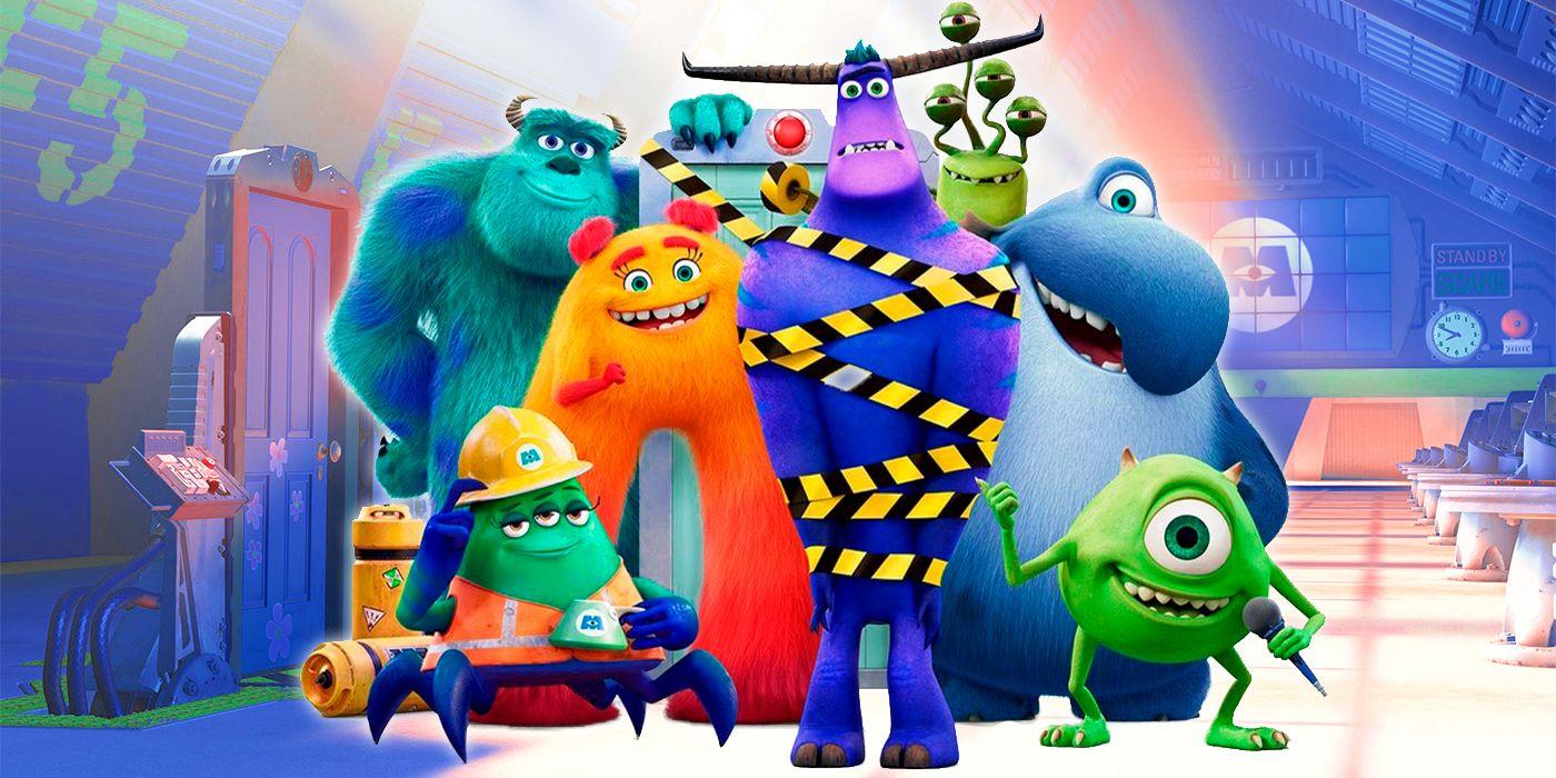 """""""Monsters at Work"""" series on Disney+"""